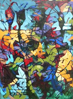 """oil on canvas 40x60"""" by William Barnhart"""