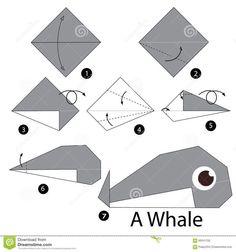dragon origami / dragon origami - dragon origami easy - dragon origami tutorial - dragon origami instructions - dragon origami - dragon origami tattoo - dragon origami step by step - dragon origami paso a paso Dragon Origami, Instruções Origami, Origami Paper Folding, Paper Crafts Origami, Origami Flowers, Whale Origami, Origami Bookmark, Origami Tattoo, Origami Hearts