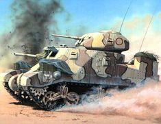 M-3 Grant in North Africa