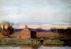 William Langson Lathrop - Old Schoolhouse,1907