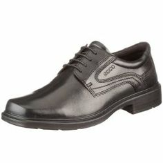 Men Dress Shoes   ECCO Men's Helsinki Plain Toe Dress Oxford   Shoe Freak
