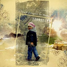 digital scrapbook page made with Anna Aspnes' Art Play Palette Viaggio