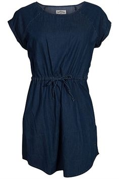 Dresses - Lee Cooper Short Sleeve Chambray Dress (belcarra/wiksten tank?)