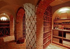 Williams-Sonoma CEO W. Howard Lester. (Photo: Curbed).   This is a home wine cellar. Wow! ~cam