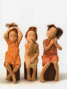 Polymer Clay Dolls, Asian Doll, Living Dolls, Doll Maker, Collector Dolls, Felt Dolls, Soft Sculpture, Ooak Dolls, Painting For Kids