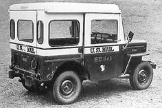 A Willys 1958 Engineering Release mentions six Post Office 3B-based prototypes as having been produced. This earlier prototype was photographed in March 1954. Presumably any production models, if they had been built, would have been two-wheel drive, but this vehicle appears to be four-wheel drive. There is no evidence that Willys used the designation DJ-3B.
