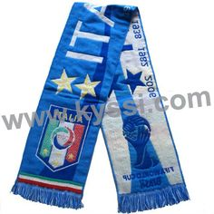 2014 World Cup Italy Italia Soccer National Team Woven Stadium Scarf  1~ 5 99a659a5b2350