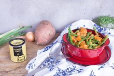 Afrikanischer+Süßkartoffel+Erdnuss+Eintopf