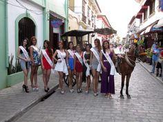 Miss Luzon in Crisologo Street