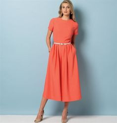Patron de robe et combinaison - Vogue 9075