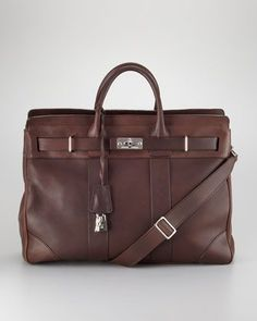 78511a51c8 Turn-Lock Leather Briefcase by Brunello Cucinelli at Bergdorf Goodman.