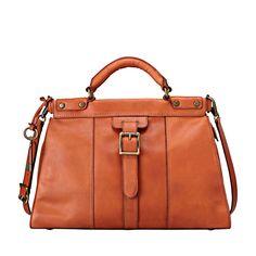 FOSSIL® Handbag Collections Vintage Revival: Vintage Revival Satchel ZB5425 #FossilVintageRevival