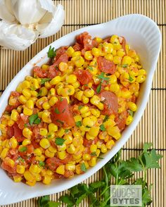 Sautéed Corn and Tomatoes - Budget Bytes