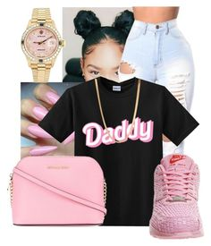 """Untitled #534"" by sammy-pinckney ❤ liked on Polyvore featuring NIKE, ASOS, MICHAEL Michael Kors and Rolex"