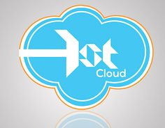 Simple but over outlined Cloud Logo