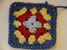 Melizabeth's Granny Square Motif By Michelle Burnes - Free Crochet Pattern - (ravelry)