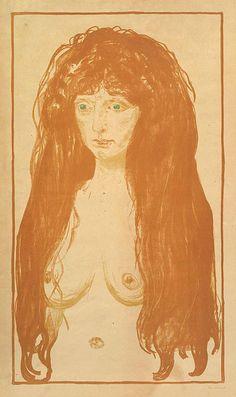 -  Edvard Munch -- davidcharlesfoxexpressionism.com #edvardmunch #expressionism