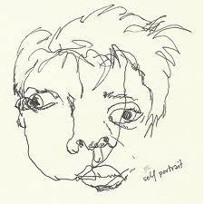 blind contour portraits - Google Search
