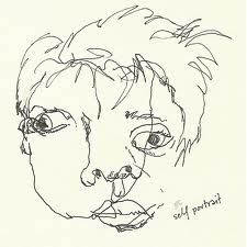 blind contour portraits - Google Search