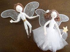 Casal para decoração de buquet de noiva - 833A75