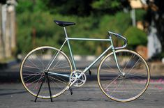 Greeny Track Bike