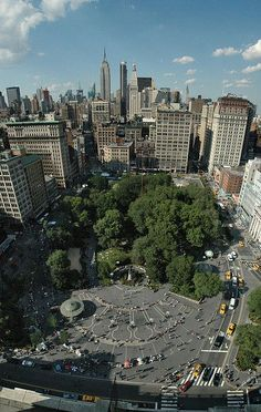 Union Square, Broadway To 4 Ave., E 14 St. To E 17 St., Manhattan, New York City
