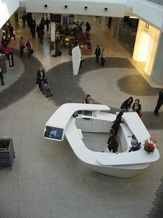 Westfield information desk by HallAnnie, via Flickr