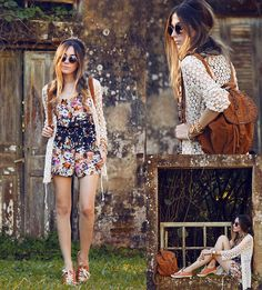 Get this look: http://lb.nu/look/6440638 More looks by Flávia Desgranges van der Linden: http://lb.nu/fashioncoolture Items in this look: Lace&Whiskey Playsuit