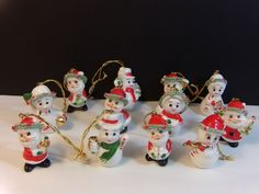 Tii Collections Ceramic Snowman With Tree Collectible Music Box