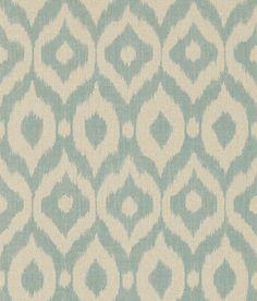 Surin Aqua / Linen wallpaper by Sanderson