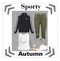 """""""autumn baddie #6"""" by kiwijulin on Polyvore featuring Boohoo, Givenchy, ASOS, Sans Souci, adidas, Full Tilt and Accessorize"""