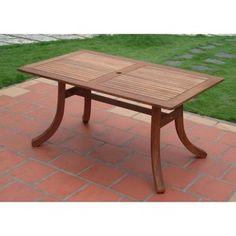 eucalyptus table, seats 6