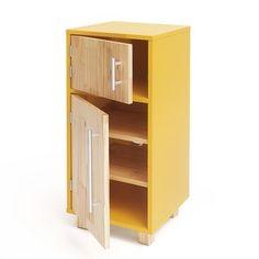 Diy Kids Kitchen, Wooden Play Kitchen, Play Kitchen Sets, Diy For Kids, Kids Playing, Locker Storage, Cabinet, Furnitures, Toys