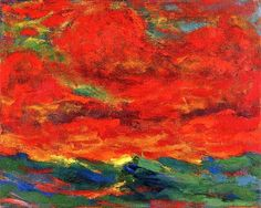 Sky and Sea, 1930 Emil Nolde