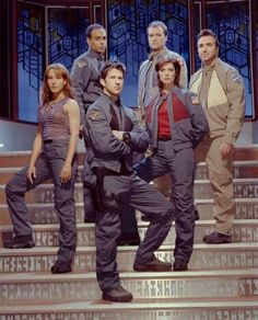 I miss you, SGA! Especially you, Beckett.