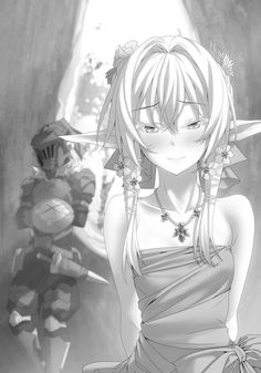 High Elf Archer with Goblin Slayer Manga Anime, Anime Elf, Moe Anime, Goblin Slayer Meme, Les Gobelins, Character Art, Character Design, By Any Means Necessary, High Elf