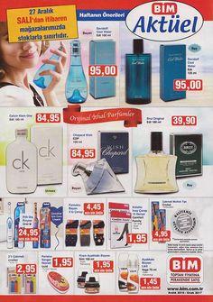 27 Aralık 2016 Bim Aktüel Kataloğu parfüm indirimleri