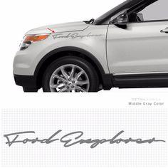 #Detailkorea #Griben Car Slogan #Decal Lettering #Sticker 10008 A for #Ford #Explorer #Explorer_Sticker #Explorer_Decal