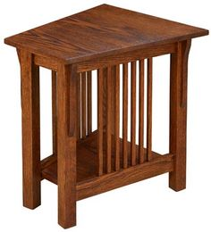 You'll save on every piece of furniture at Amish Outlet Store! We custom make every item, and you can get the Prairie Mission Wedge Table in Rustic Cherry with any wood and stain.