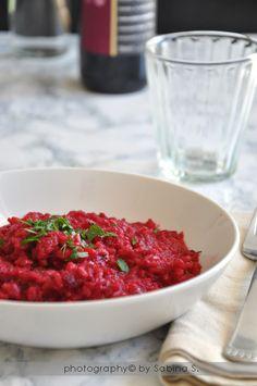 Due bionde in cucina: Risotto alla barbabietola rossa