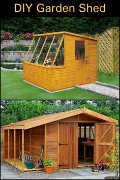 We Found The Ultimate Garden Shed! Lots of Storage Space, Great Natural Light, Big Doors