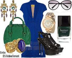The Little Blue Dress by ECS-Fashion Forward