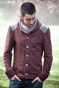 Mens sewing patterns !! http://www.threadtheory.ca/products Newcastle Cardigan