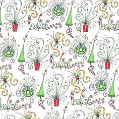 christmas scrapbook paper   Swirly Christmas Paper