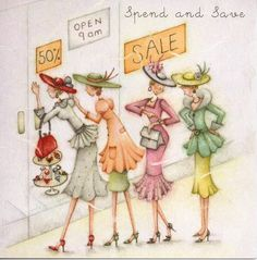 Shopping ~ Spend and Save Berni Parker