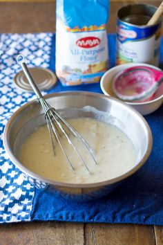 """DIY cream of chicken soup to use as is or in recipe.  Sarah's Verdict: Fantastic!!!  I hate cream of anything condensed soup, so I always avoid recipes that call for it.  Not anymore.  It was super easy to make!"""