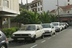 Backwards Driving the Streets of Puerto Cruz de Tenerife