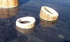 Very cool deer antler ring