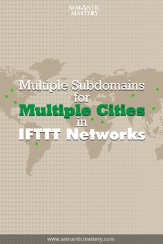 """""""Should I Create Multiple Subdomains for Multiple Cities for Local SEO?"""" via http://semanticmastery.com/multiple-subdomains-for-multiple-cities/  At Episode 56 of Hump Day Hangout, one question was about creating multiple subdomains to integrate multiple keywords that also target cities and neighborhoods."""