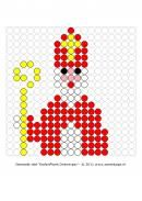 Thema-Feesten-Sinterklaas-Kralenplank ~ Juf Milou Saint Nicolas, Toddler Christmas, Projects For Kids, Perler Beads, Beading Patterns, Pixel Art, Cool Kids, Diy And Crafts, Christmas Crafts